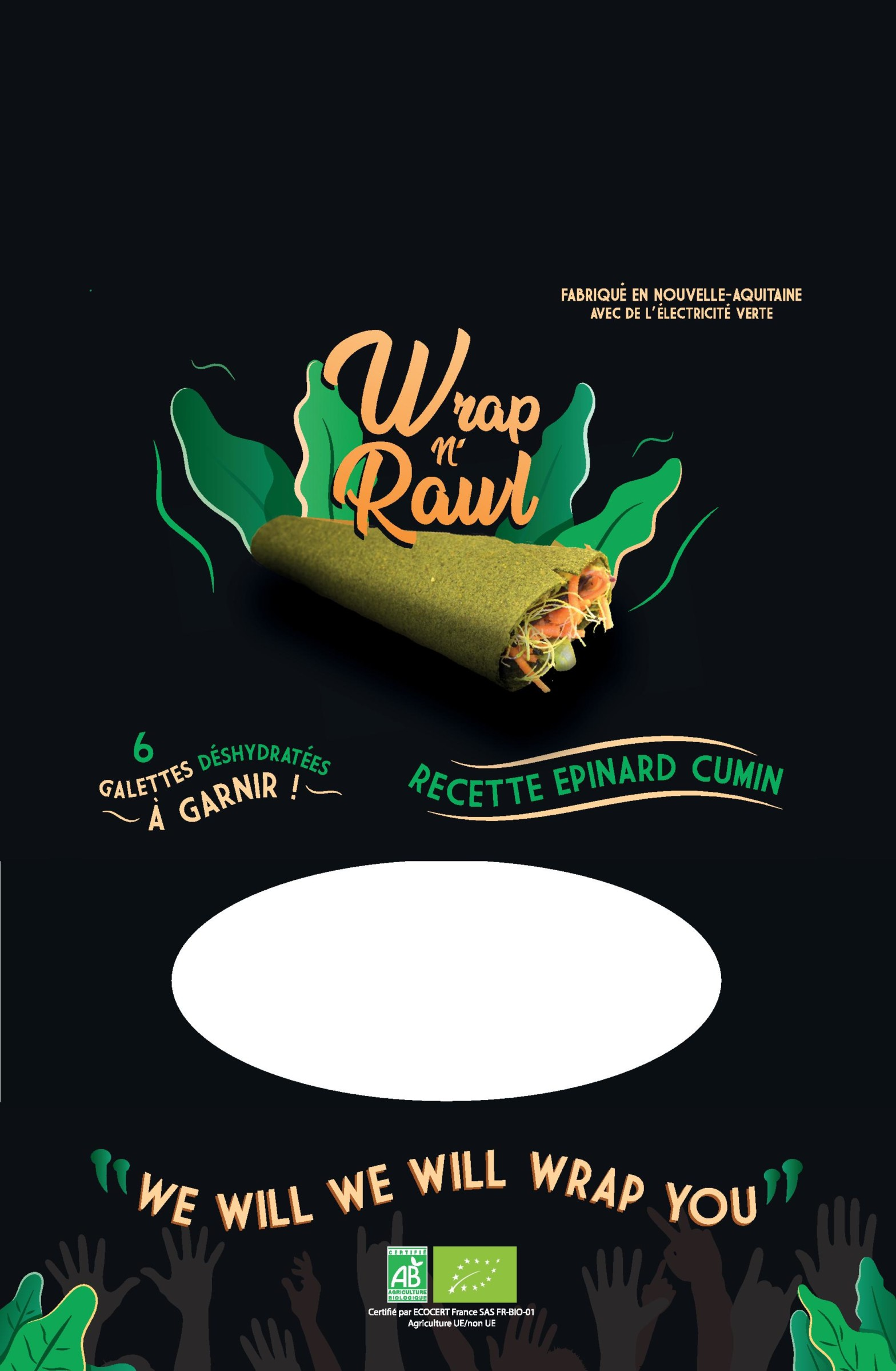 emballage du wrap N'Rawl